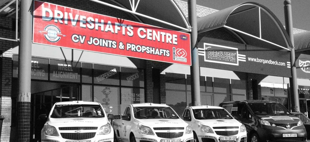 Driveshafts Centre Randburg Shop