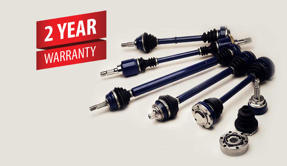 2 year warranty on Driveshafts and CV Joint Specialists