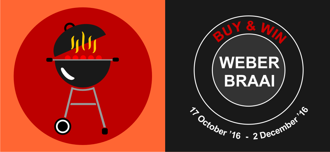 Win A Weber Braai Promotion 2016