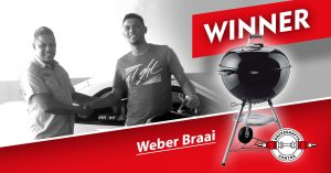 Darryn Poole: Win a Weber Winner 2015